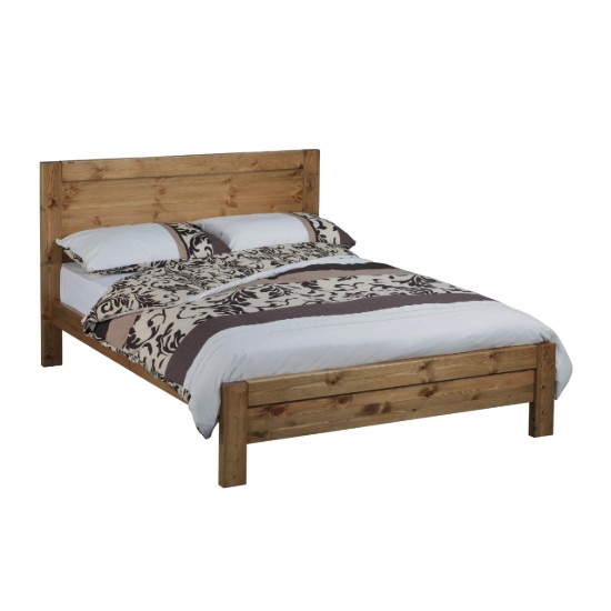 calton oak bed frame