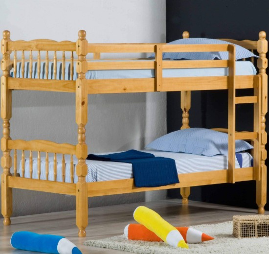 standard honey bunk bed