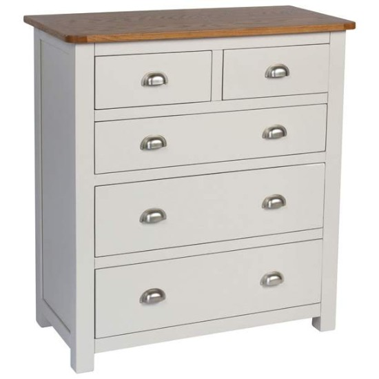 fontaine five drawer chest