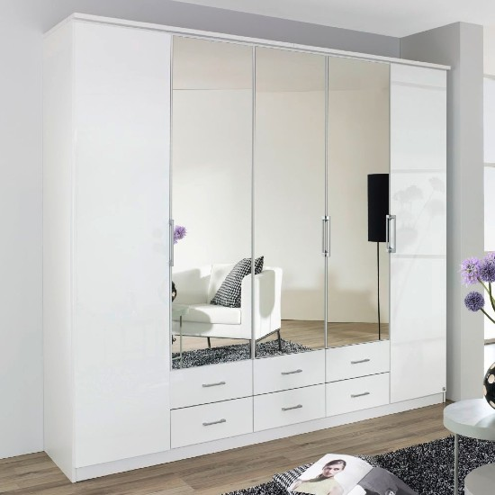 ellwangen five door wardrobe